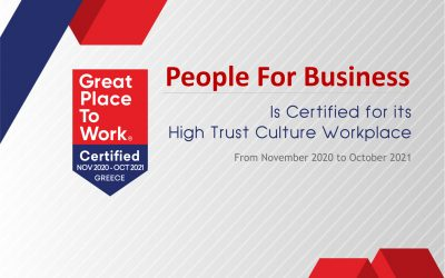 PfB @ CERTIFIED by Great Place to Work®